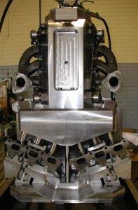 Exhaust Manifold Fixture